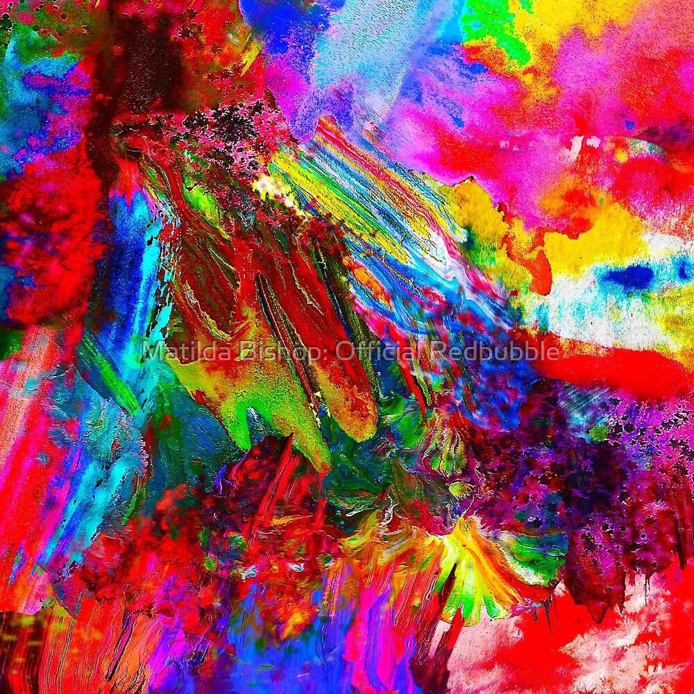 Iridescent Colours by Matilda Bishop Art: Official Redbubble