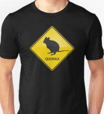 Quokka Warning Sign T-Shirt