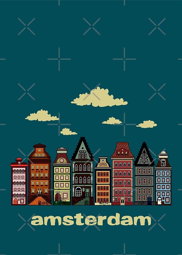 Amsterdam by mangulica