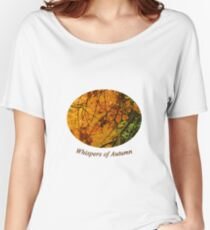 Whispers of Autumn Women's Relaxed Fit T-Shirt