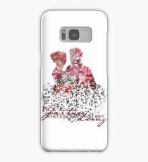 "Emma & Hook Flower Graphic - ""Pick a partner..."" Samsung Galaxy Case/Skin"