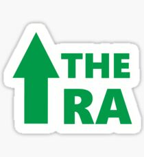 Up The Ra Simple Design Sticker