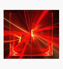Red Yellow Prism Photographic Print