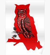 Twin Peaks Owls Poster