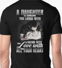 Daughter Love Unith Heart - Fathers Day 2017 Unisex T-Shirt