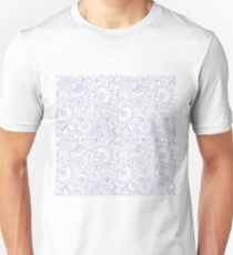 Fly EYES - Patterns BLUE - flowers, floral T-Shirt