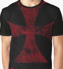 crusader cross deult vult Graphic T-Shirt