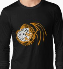 Dungeons and Dragons - Orange and White! T-Shirt