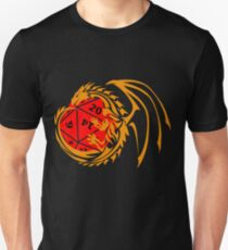 Dungeons and Dragons - Orange and Red! T-Shirt