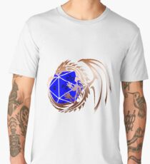 Dungeons and Dragons - Copper and Blue! Men's Premium T-Shirt