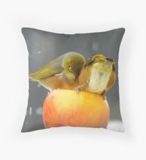 Alright...Alright... Come On Shove Over!!! - Silver-Eyes - NZ Throw Pillow