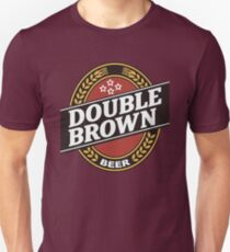 double brown Unisex T-Shirt