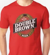 double brown T-Shirt