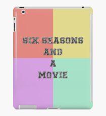 Six Seasons And A Movie iPad Case/Skin