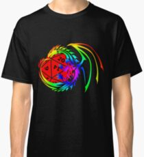 Dungeons and Dragons - Prismatic and Red! Classic T-Shirt