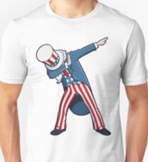 4th of July Dabbing Uncle Sam Unisex T-Shirt