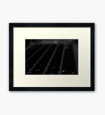 Macbook pro 13 keyboard Framed Print