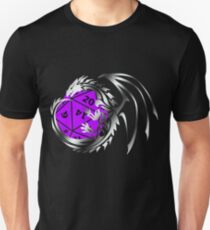 Dungeons and Dragons - Silver and Purple! T-Shirt