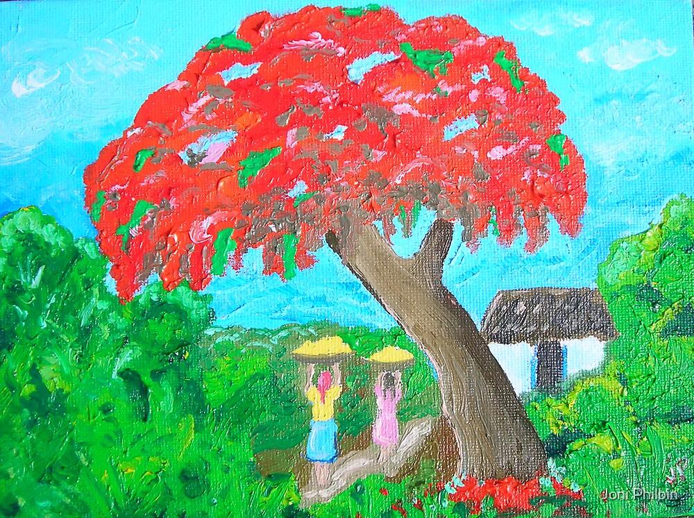 Haitian Art study by Joni Philbin