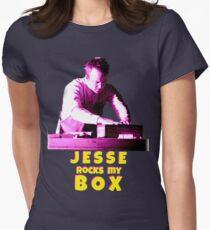 Jesse Rocks My Box! Womens Fitted T-Shirt