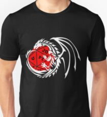 Dungeons and Dragons - White and Red! Unisex T-Shirt