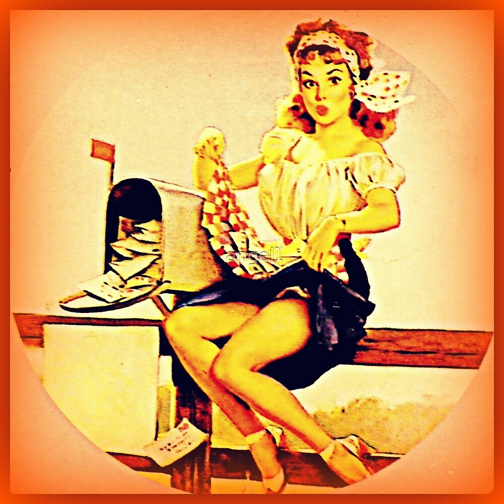 Pin up Girl by ©The Creative  Minds