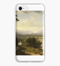 White Mountain Scenery, Franconia Notch, N.H. by Asher Brown Durand iPhone Case/Skin
