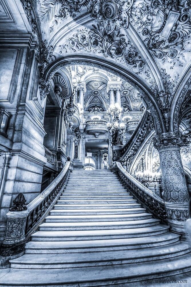 Opera House, Paris 2 by John Velocci