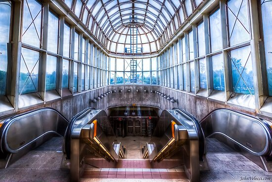 Yorkdale Subway Station by John Velocci