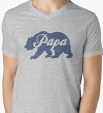 Vintage Papa Bear Father's Day Gift T-Shirt