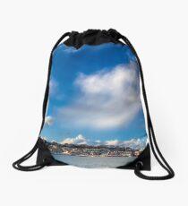 Cowes Waterfront Drawstring Bag