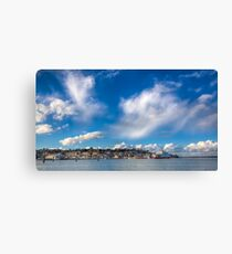 Cowes Waterfront Canvas Print
