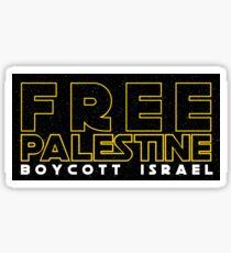 Free Palestine Star Wars Sticker