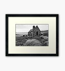 Church of the Good Shepherd (bw) Framed Print