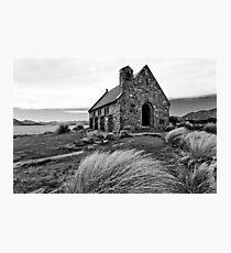 Church of the Good Shepherd (bw) Photographic Print