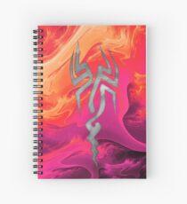 Tribal Tattoo Design Spiral Notebook