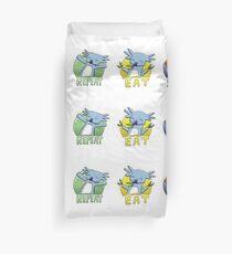 Cute Koala - Eat Sleep Repeat Duvet Cover