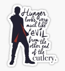 Doctor Who-Hunger Sticker