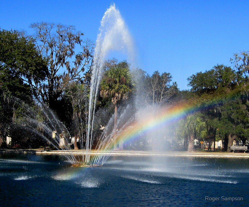 Promise Fountain by Roger Sampson