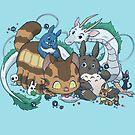 Spirited Friends by dooomcat