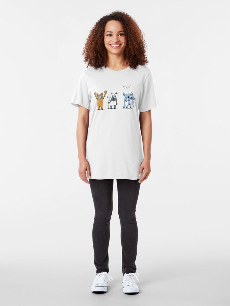 Alternate view of Koala Is Not A Bear Slim Fit T-Shirt