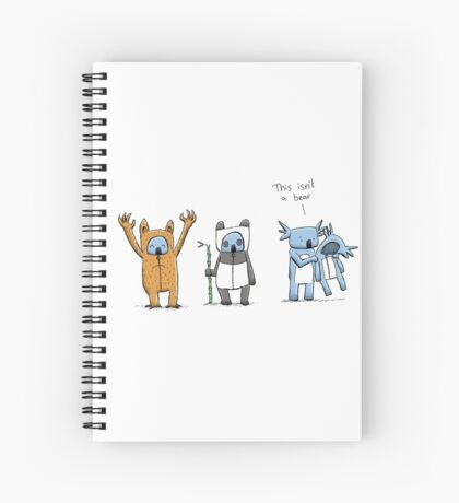 Koala Is Not A Bear Spiral Notebook