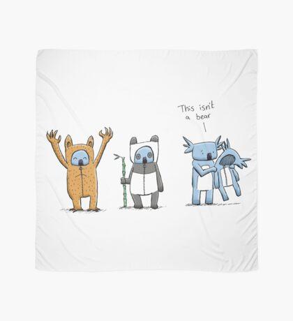 Koala Is Not A Bear Scarf