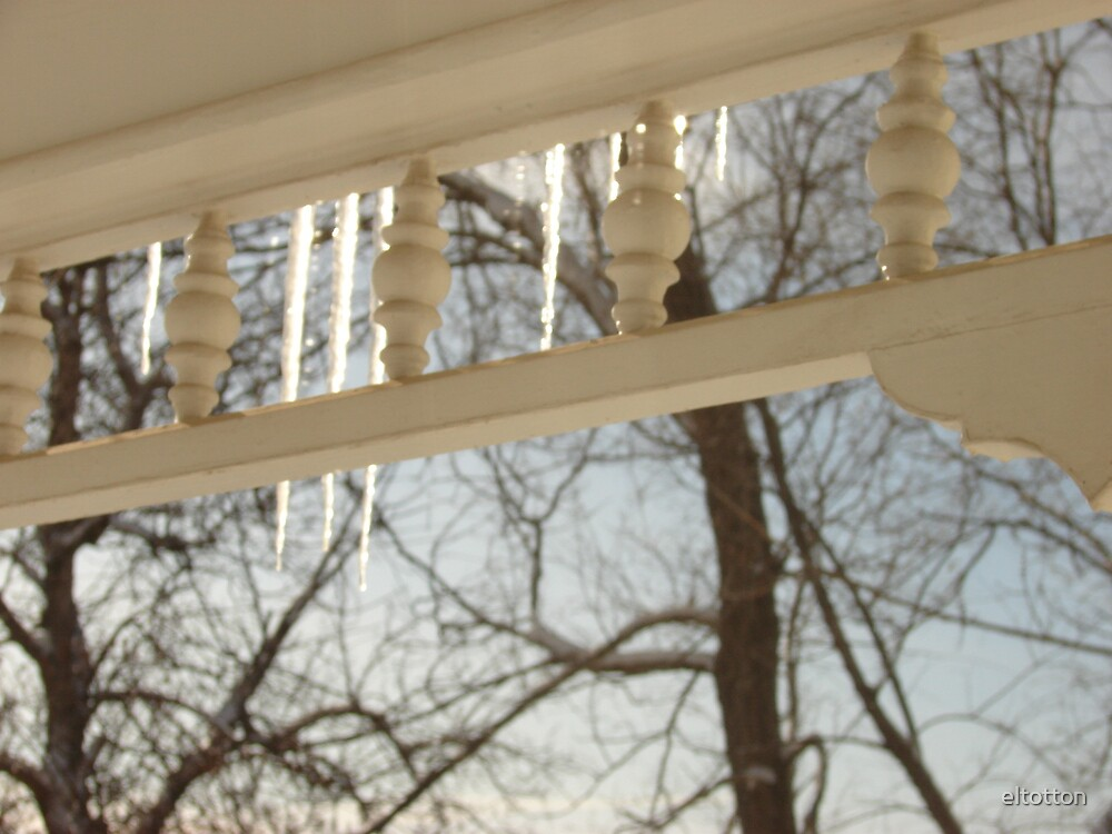 Morning Icicles by eltotton