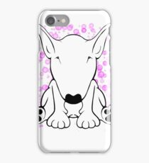English Bull Terrier Forward Sit iPhone Case/Skin