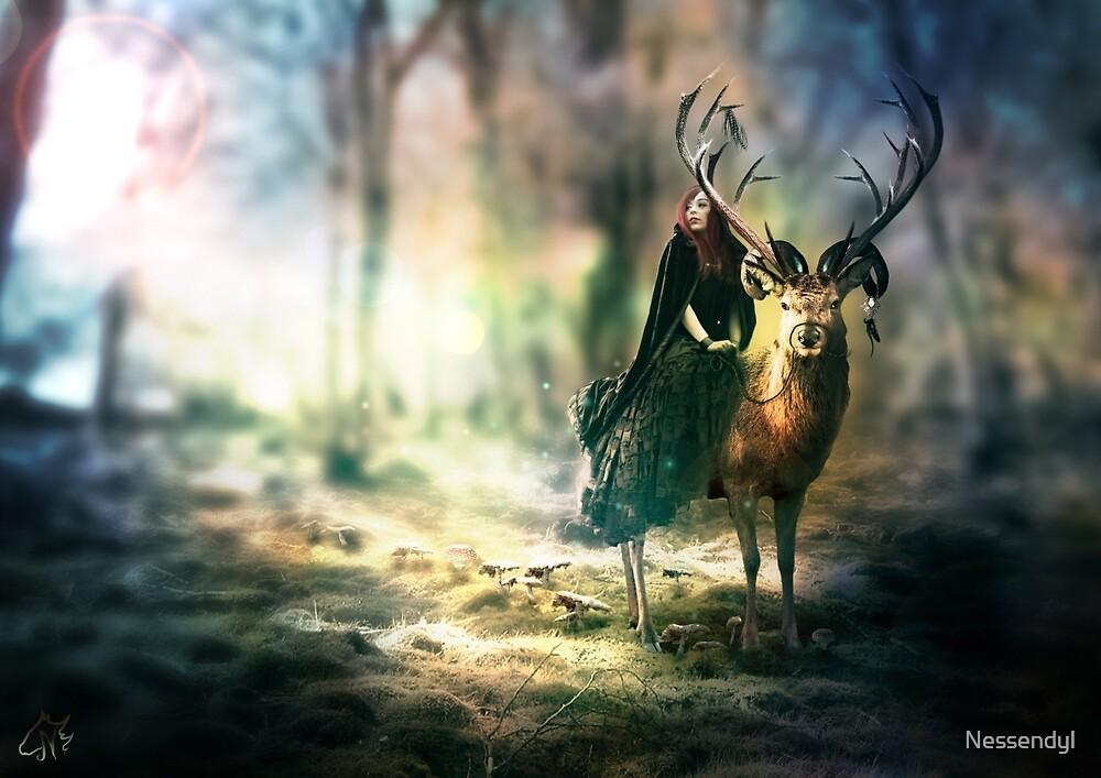 King of deers by Nessendyl