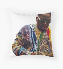 Biggie Smalls Throw Pillow