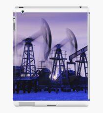 Oil pumps iPad Case/Skin