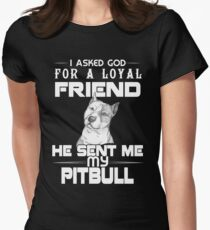 A loyal friend Womens Fitted T-Shirt