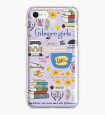 Gilmore Girls Collage, lavender iPhone Case/Skin